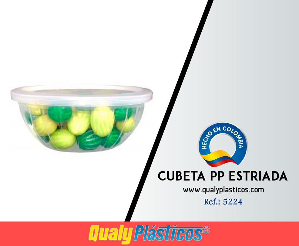Cubeta PP Estriada Image