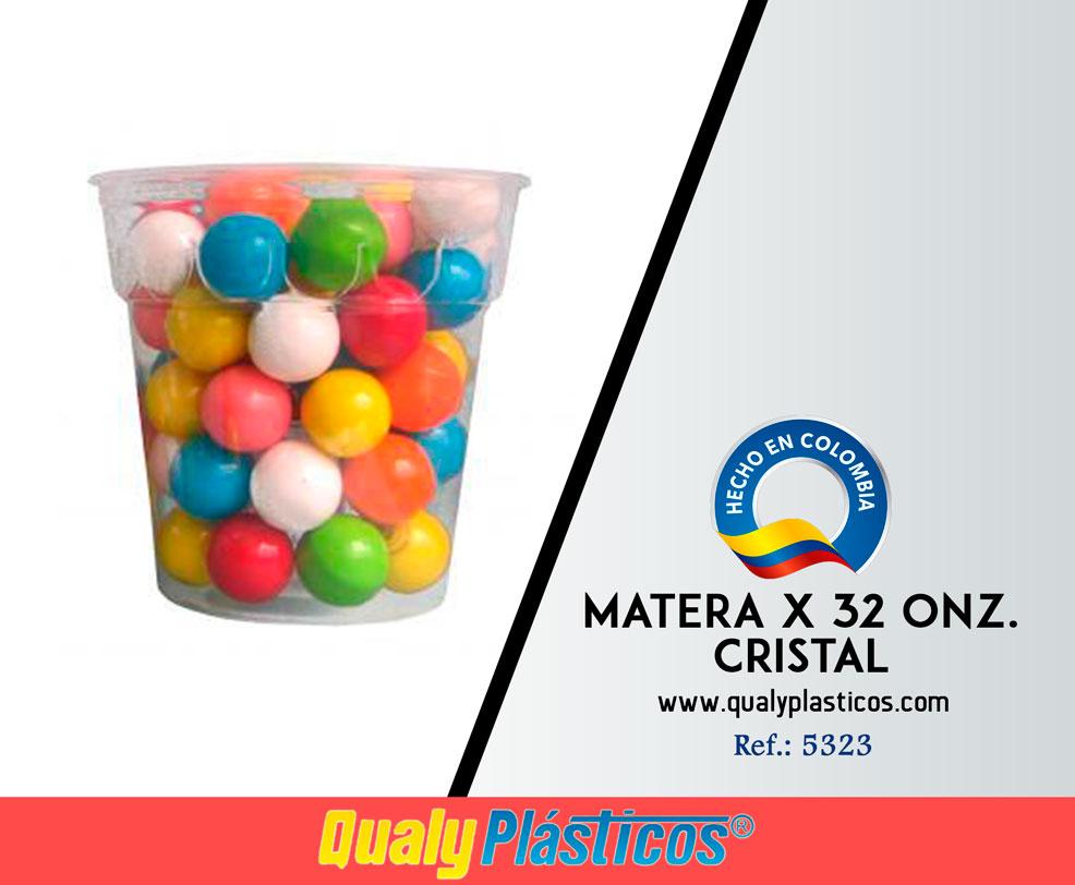 Matera x 32 Onz. Cristal Image