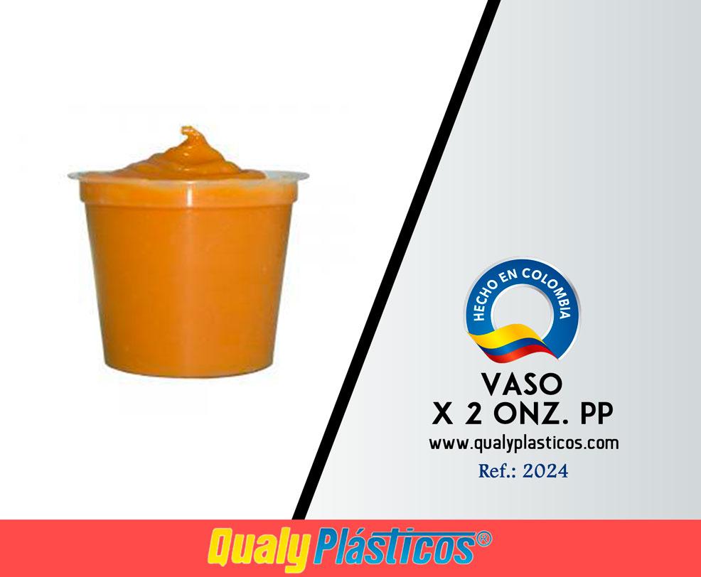 Vaso x 2 Onz. PP Image