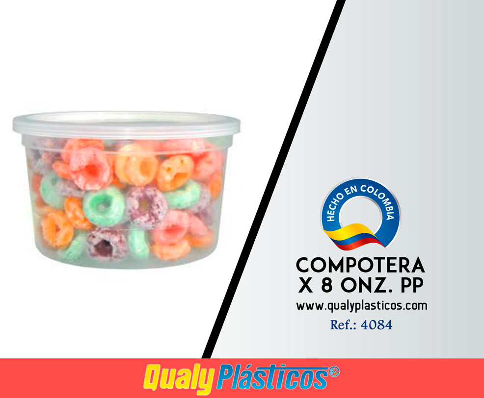 Compotera x 8 Onz. PP Image