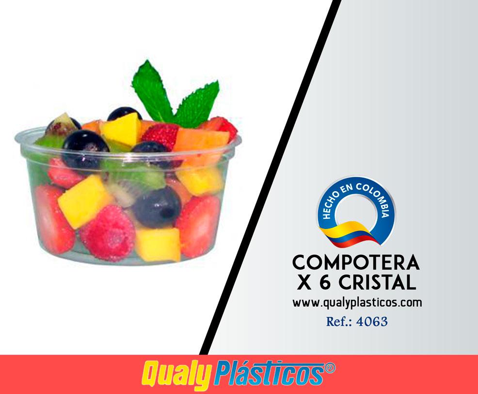 Compotera x 6 Cristal Image