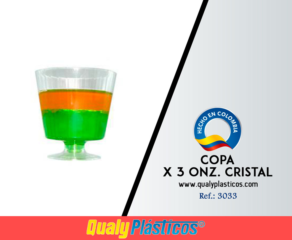Copa x 3 Onz Cristal Image