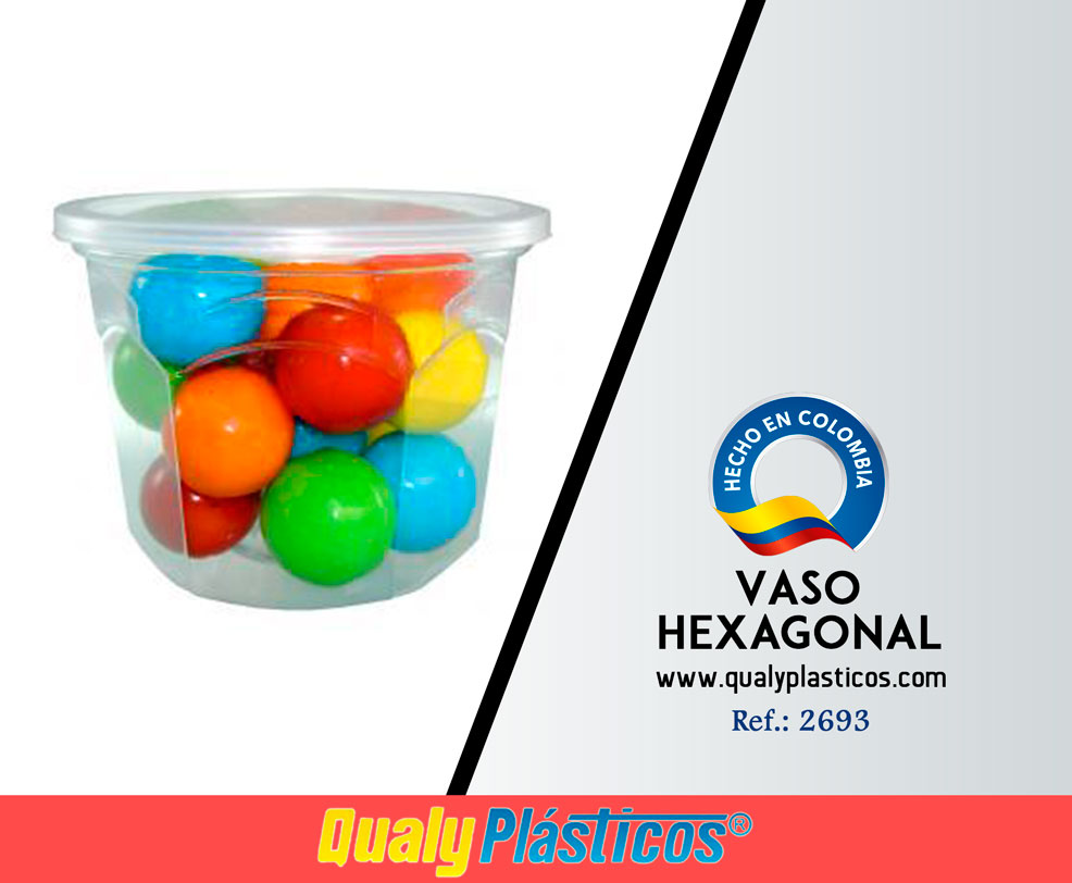 Vaso Hexagonal Image