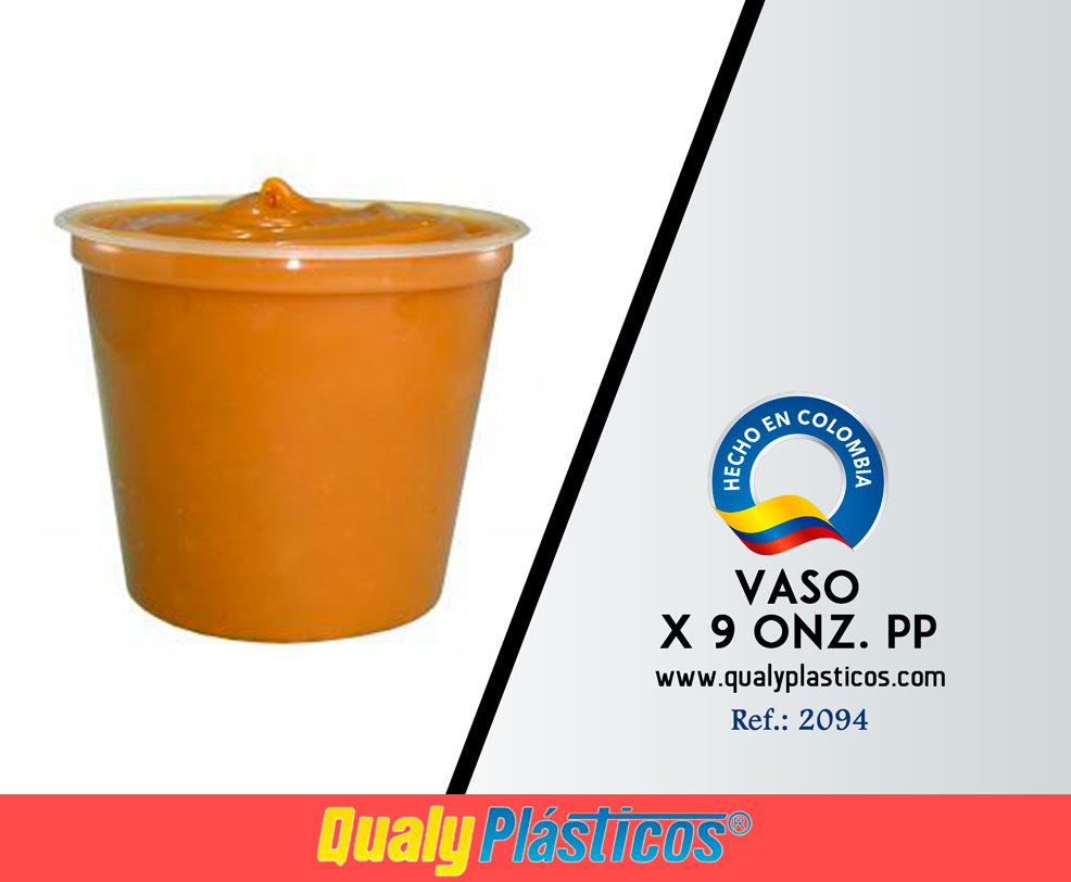 Vaso x 9 Onz. PP Image