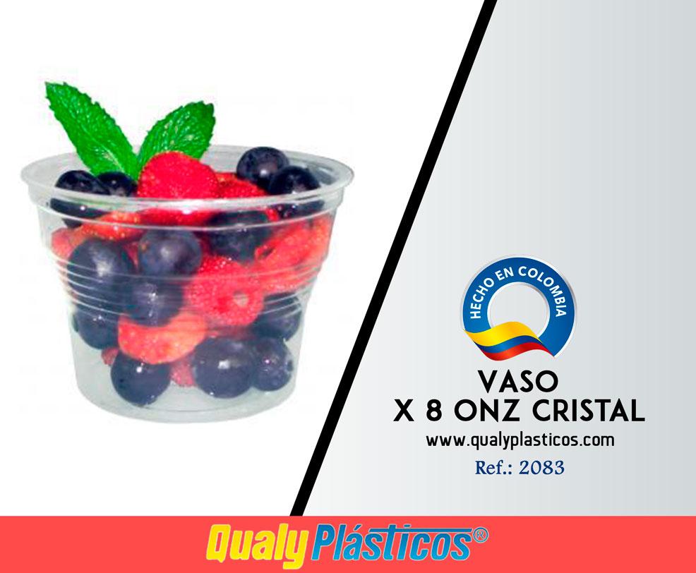 Vaso x 8 Onz Cristal Image
