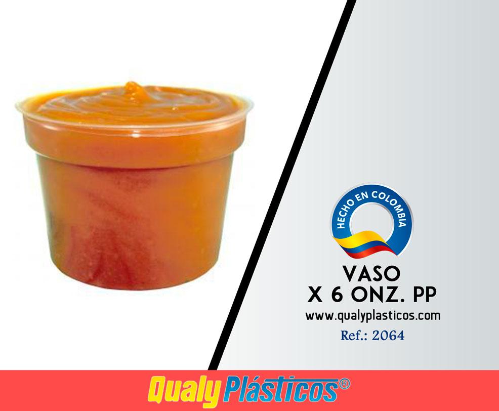 Vaso x 6 Onz. PP Image