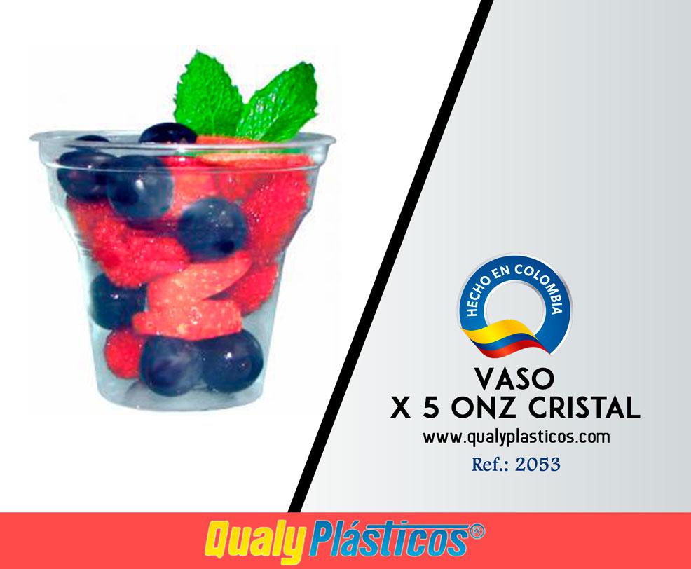 Vaso x 5 Onz Cristal Image