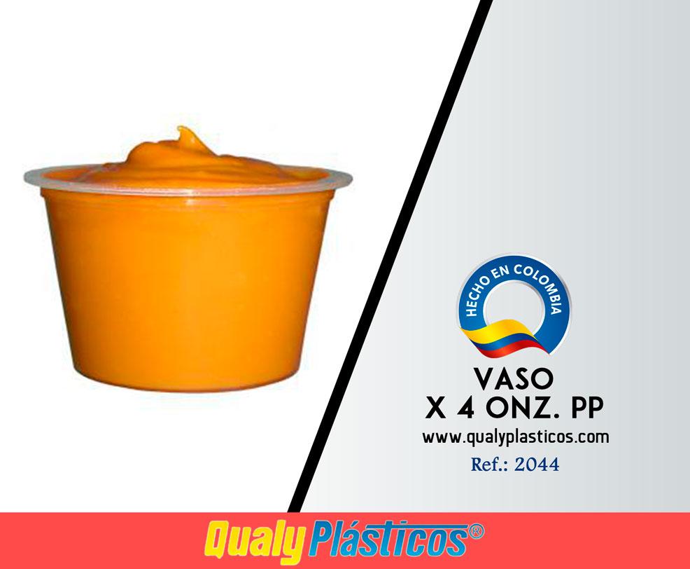 Vaso x 4 Onz. PP Image